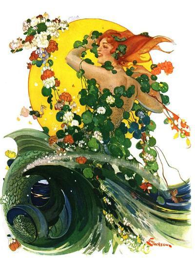 """Mermaid,""August 4, 1928-Elbert Mcgran Jackson-Giclee Print"