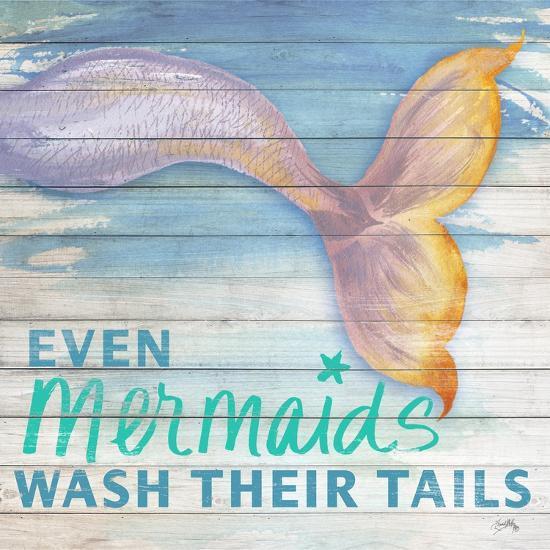 Mermaid Bath II-Elizabeth Medley-Art Print
