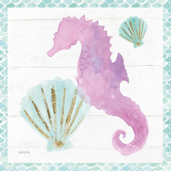 Mermaid Friends VI--Art Print