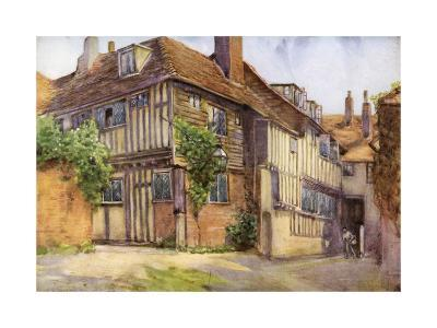 Mermaid Inn, Rye, Sussex, 1924-1926-George F Nicholls-Giclee Print