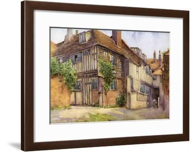 Mermaid Inn, Rye, Sussex, 1924-1926-George F Nicholls-Framed Giclee Print