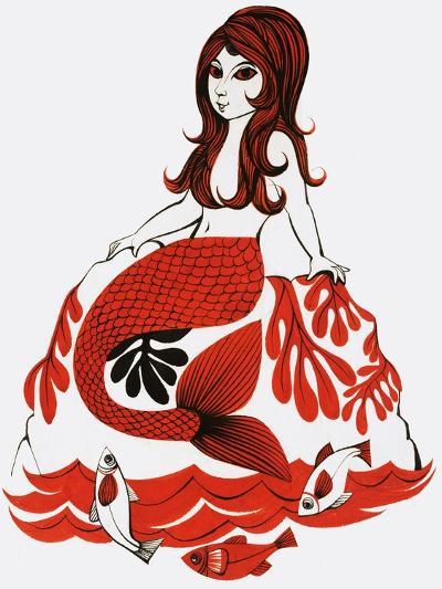 Mermaid--Giclee Print