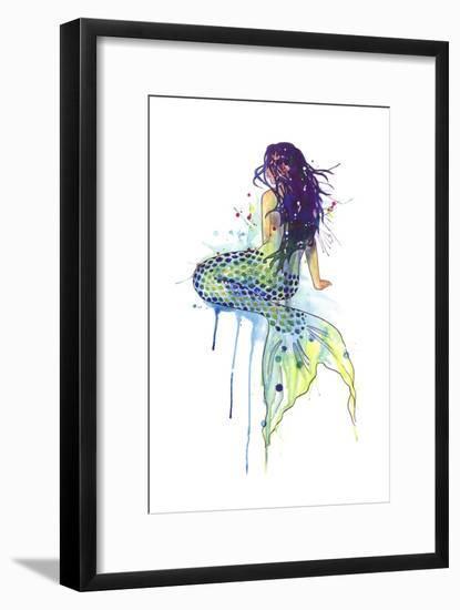 Mermaid-Sam Nagel-Framed Art Print