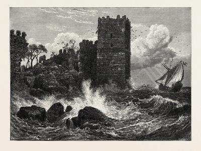 Mermer Kali on the Sea of Marmora, Constantinople, Istanbul, Turkey, 19th Century--Giclee Print