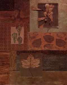 Leaf Collage II by Merri Pattinian