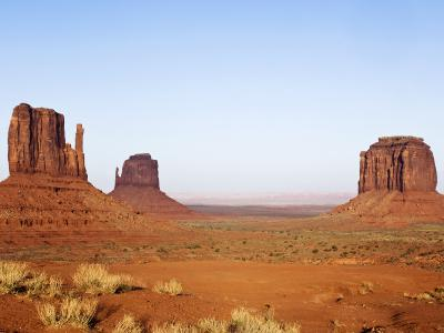 Merrick Butte and The Mittens, Monument Valley Tribal Park, Arizona-Rob Tilley-Photographic Print