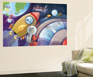 Life in Space - Jack & Jill by Merril Rainey