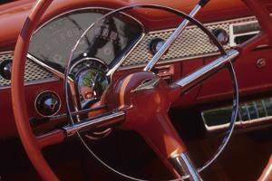 Car Detail at Classic Car Show, Kirkland, Washington, USA by Merrill Images