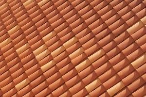 Croatia, Dubrovnik, a historic walled city and red terracotta tile roof. by Merrill Images