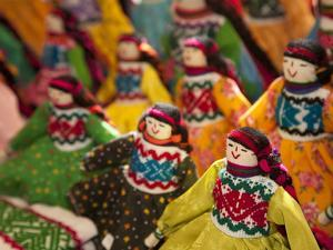 Fabric Dolls for Sale, Guanajuato, Mexico by Merrill Images