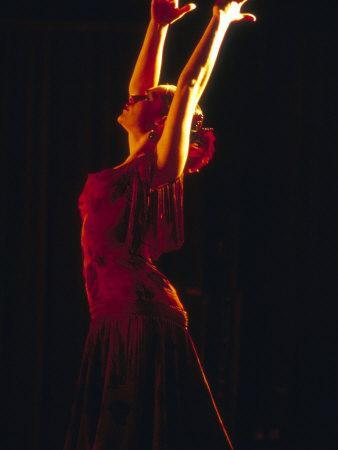 Female Flamenco Dancer, Cordoba, Spain
