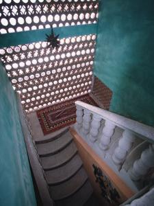 Interior of Stairway and Traditional Mexican Architecture, Puerto Vallarta, Mexico by Merrill Images