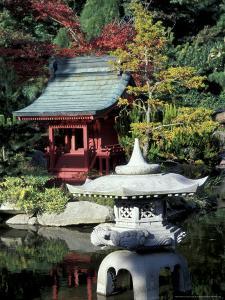 Point Defiance Park, Japanese Garden, Tacoma, Washington, USA by Merrill Images