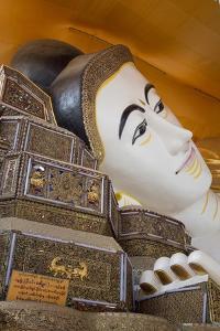 Shwe-Tha-Lyaung Reclining Buddha in Bago, Myanmar by Merrill Images