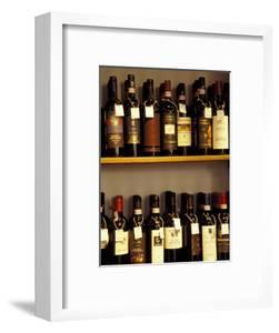 Wine Display, Pienza, Tuscany, Italy by Merrill Images