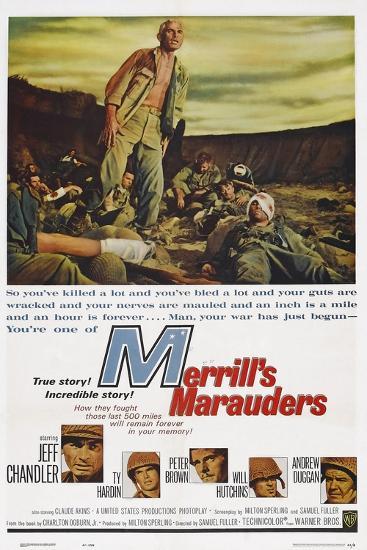 Merrill's Marauders--Art Print