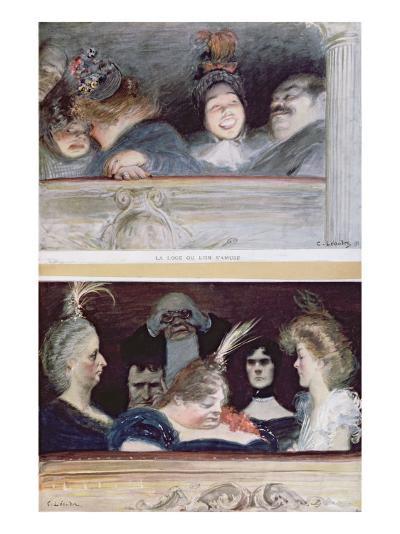 Merriment and Boredom, 1898-Charles Leandre-Giclee Print