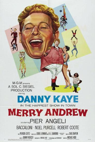 Merry Andrew, 1958, Directed by Michael Kidd--Giclee Print