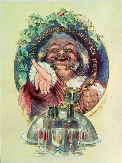 Merry Christmas and a Happy New Year', 1947--Giclee Print