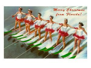 Merry Christmas from Florida, Water Skiers