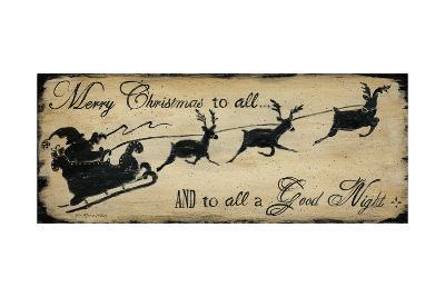 Merry Christmas to All-Jo Moulton-Art Print