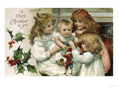 Merry Christmas to You--Giclee Print