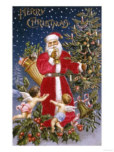 Merry Christmas--Giclee Print