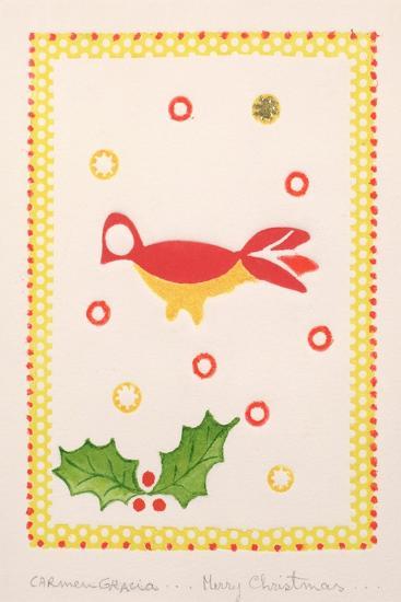 Merry Christmas-Carmen Gracia-Giclee Print