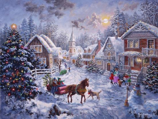 Merry Christmas-Nicky Boehme-Giclee Print