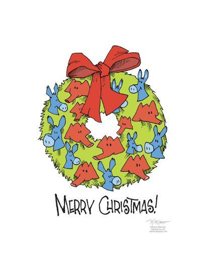 Merry Christmas!-Signe Wilkinson-Art Print