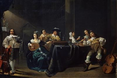 Merry Company, 17th Century-Jacob Duck-Giclee Print