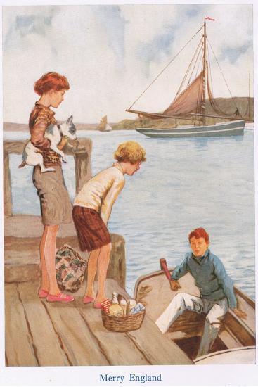 Merry England-Gordon Frederick Browne-Giclee Print