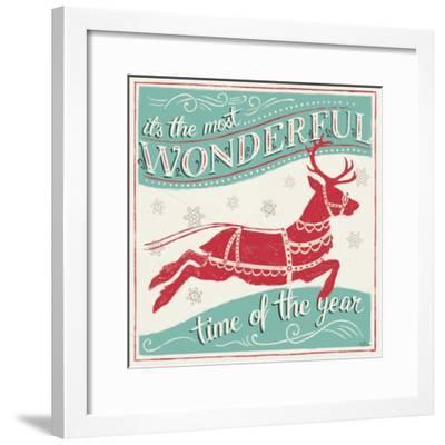 Merry Little Christmas IV-Janelle Penner-Framed Art Print