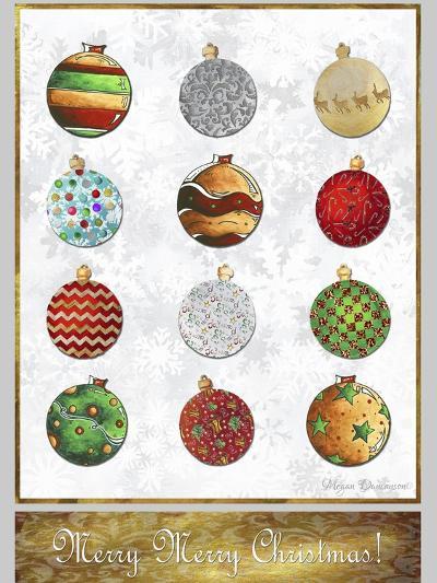 Merry Merry Christmas 2-Megan Aroon Duncanson-Giclee Print