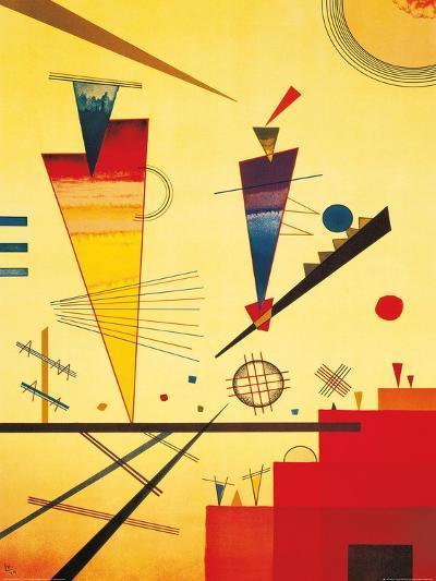 Merry Structure-Wassily Kandinsky-Art Print