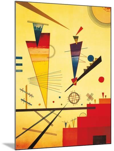Merry Structure-Wassily Kandinsky-Mounted Print