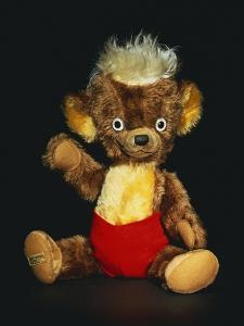 A Merrythought Punkinhead Bear, circa 1950s by Merrythought