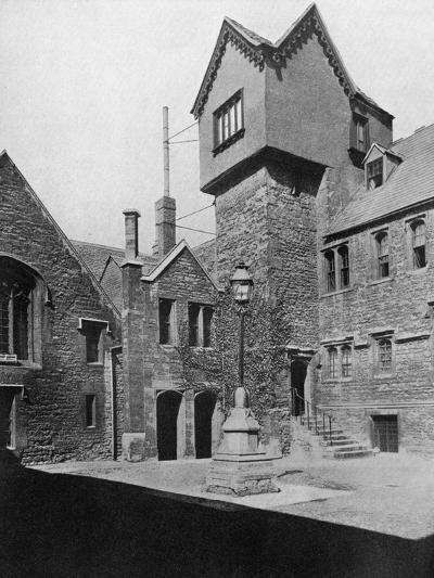 Merton College, Oxford, Oxfordshire, 1924-1926-HN King-Giclee Print