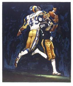 NFL Superbowl XIV by Merv Corning