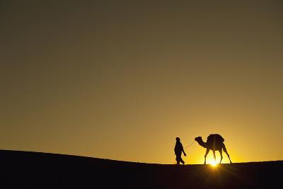 Merzouga, Morocco-Design Pics Inc-Photographic Print