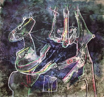 Mes Dessins-Roberto Matta-Serigraph
