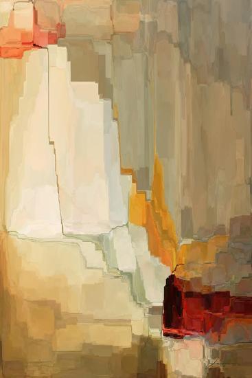 Mesa Panels II-James Burghardt-Art Print