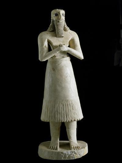 Mesopotamian Art : Figure of the Abu Deity--Photographic Print