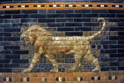 Mesopotamian Art. Neo-Babylonian. The Throne Room of Nebuchadnezzar II. Reconstructed Facade.…--Giclee Print
