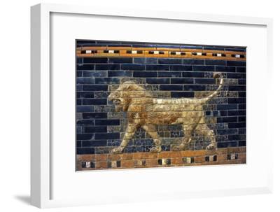 Mesopotamian Art. Neo-Babylonian. The Throne Room of Nebuchadnezzar II. Reconstructed Facade.…