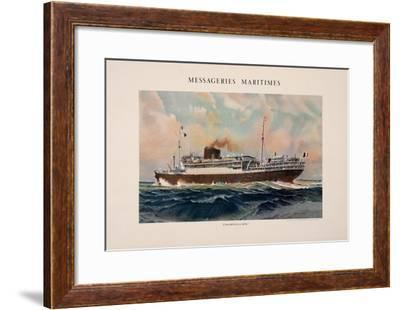 Mess. Maritimes - Champolion-Marin Marie-Framed Collectable Print