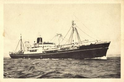 Messageries Maritimes, Navire Meinam, Dampfschiff--Giclee Print