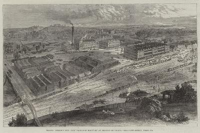 Messers Allsopp and Sons' Pale-Ale Brewery at Burton-On-Trent--Giclee Print