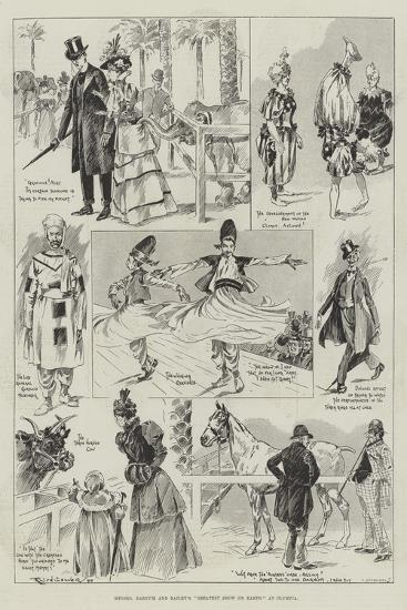 Messers Barnum and Bailey's Greatest Show on Earth at Olympia-Ralph Cleaver-Giclee Print