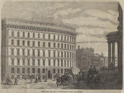 Messers Cook, Sons, and Company's Warehouse, St Paul's Churchyard--Giclee Print